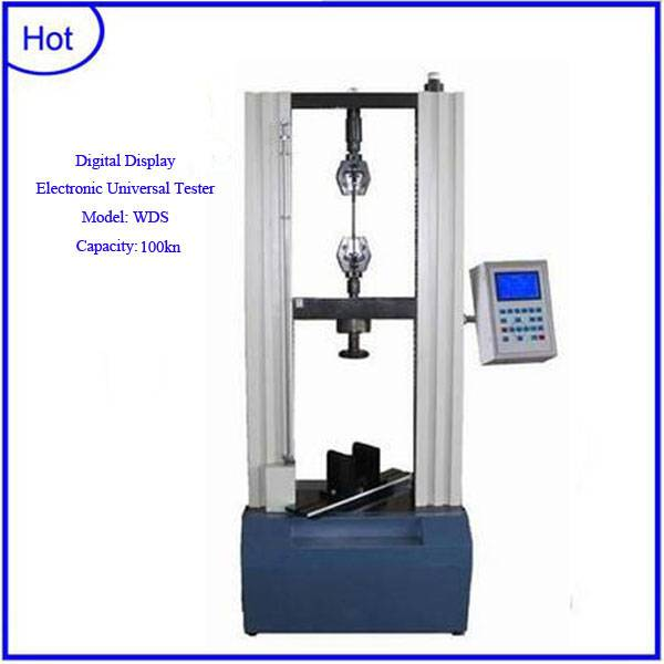 100kn Digital display electronic universal testing equipment