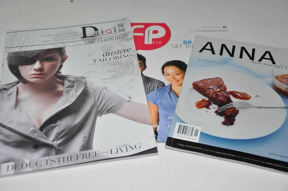 Hign Quality Printing Magazine
