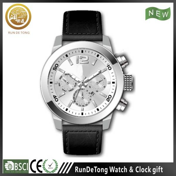Asia men size stainless steel men watch, new products
