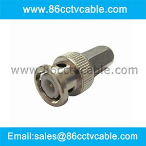 Twist on BNC Connector for RG 59/62 cable