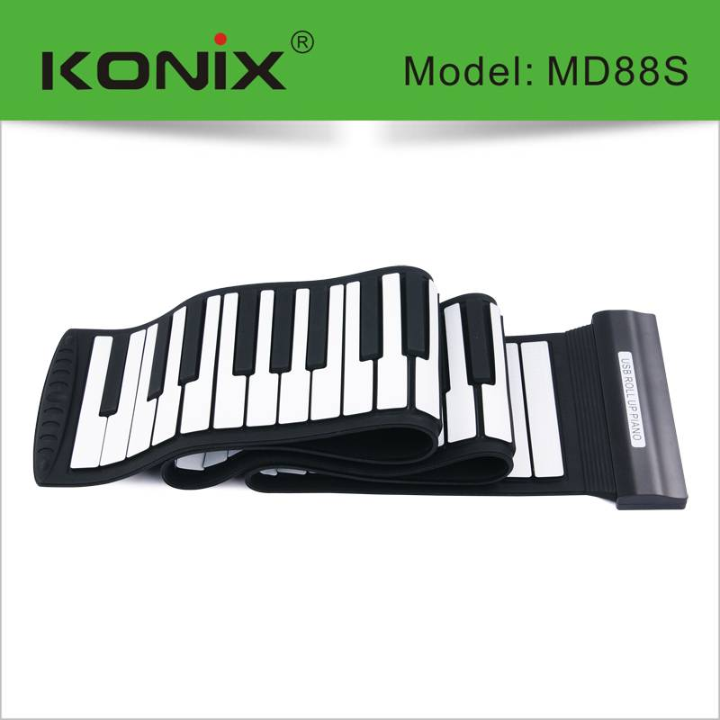 Midi Keyboard Usb Piano 88 Keys Roll Up Piano musical instrument