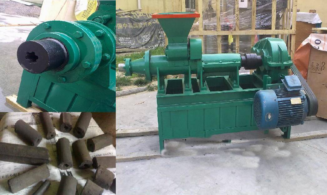 Sale charcoal or coal extruder machine