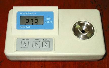 REF620 digital refractometer for Brix,Salinity
