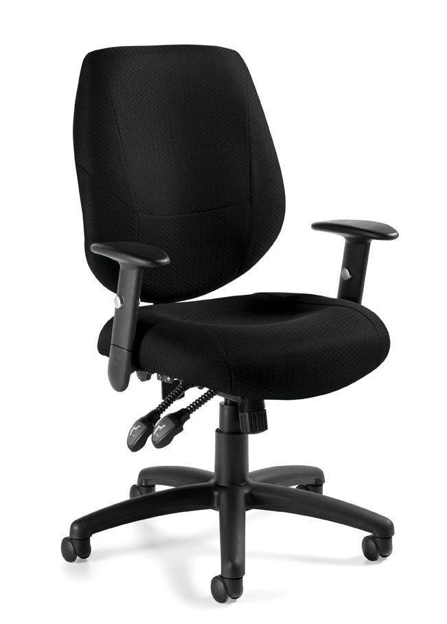 Office chair manager executive multi functional good fabric ergonomic design