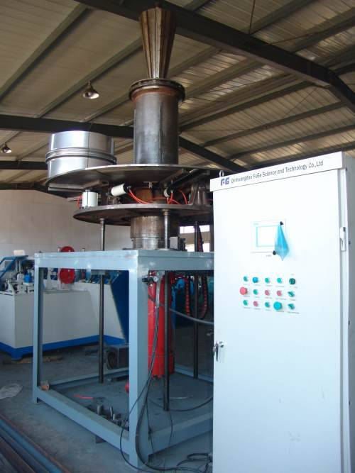 Automatic bellow expansion joint forming machine DN100-7000