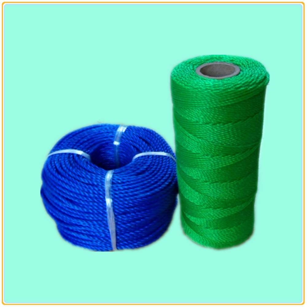 Pe Fishing Twine/pp Rope/net Fishing/polywire/pe Rope/3 Strand Rope ...