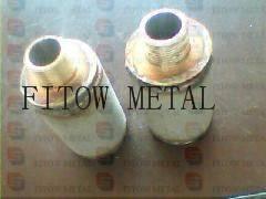 Sintered titanium rod filter