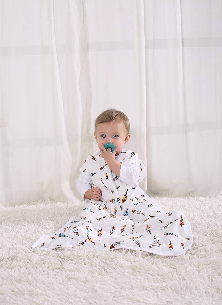 Sell LAT Baby Bamboo Muslin Sleeping Bag