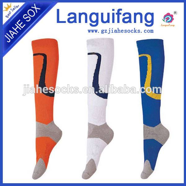 Factory Design Fashion Stripe Terry Cotton Football Socks
