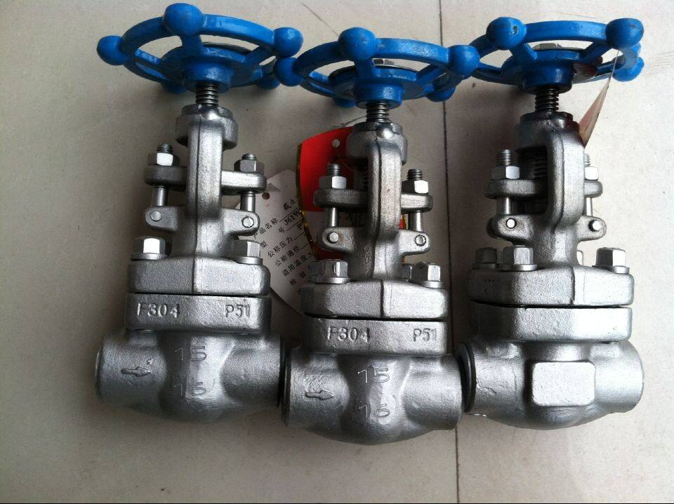 API 602 CL800 A105 FORGED STEEL RISING STEM TYPE GATE VALVE