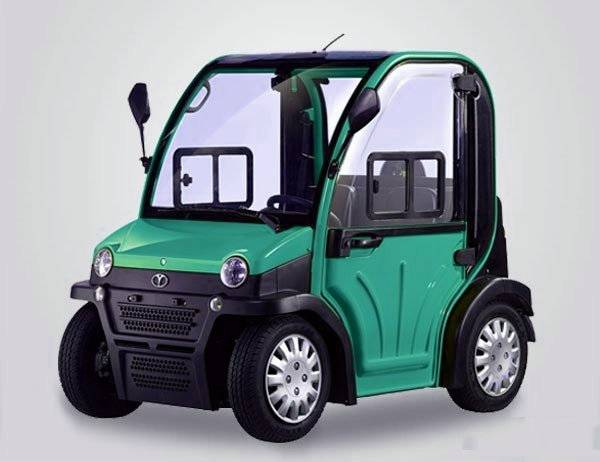 2 seat electric car