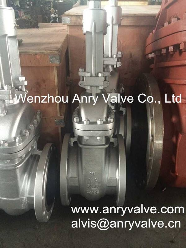 ANSI cast steel flanged gate valve