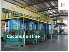 Main fatty acid of Coconut oil line
