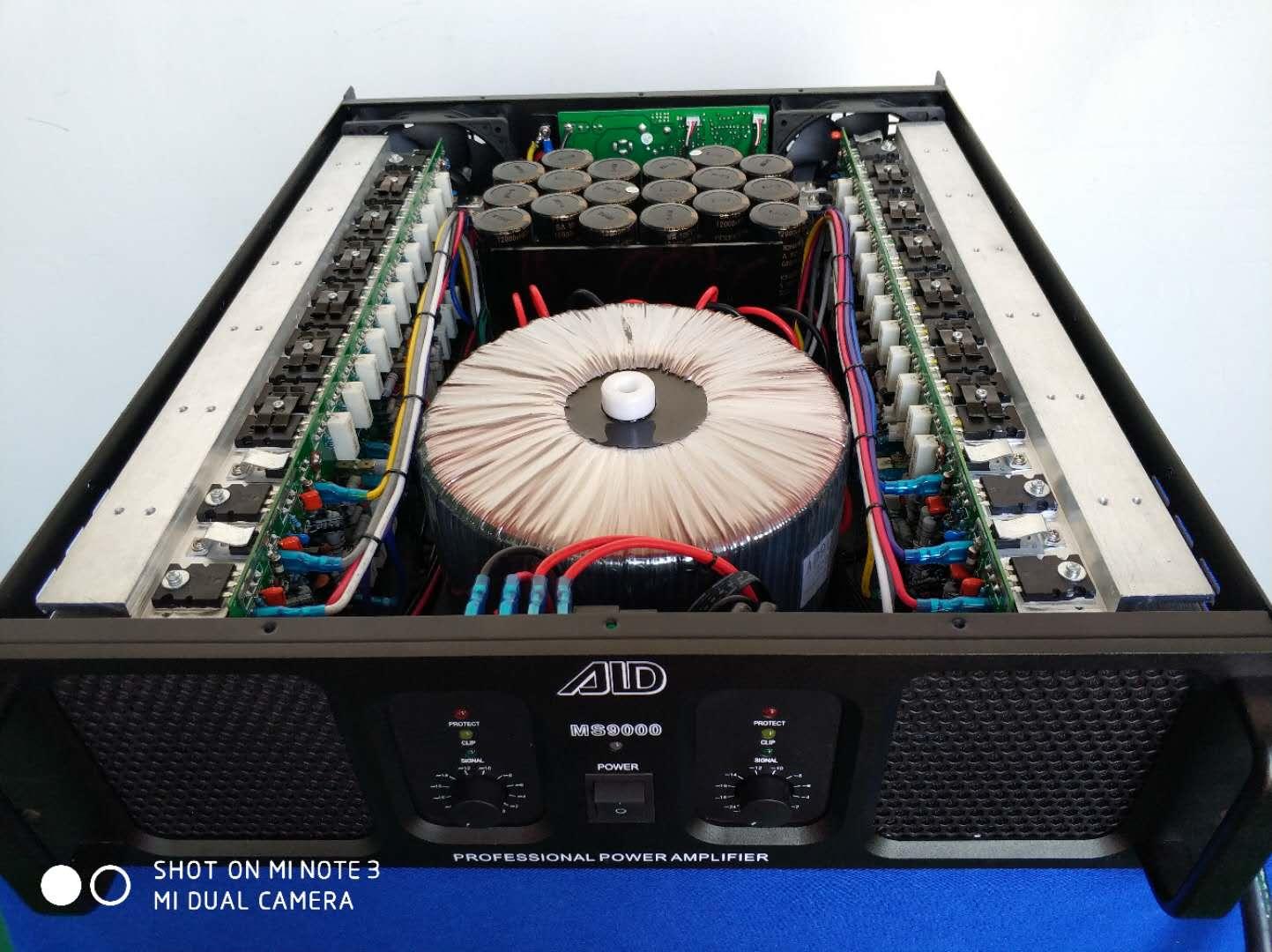 Class H 2100W power amplifier
