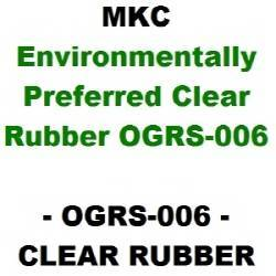 Environmentally Preferred Clear Rubber (OGRS-006)