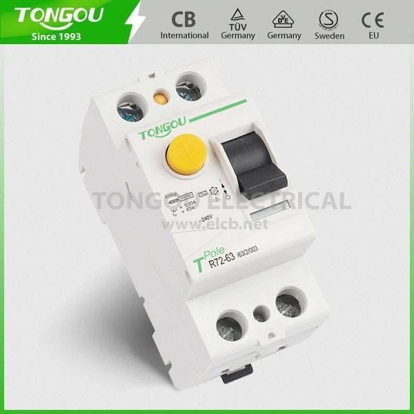TOR72-63 type Residual Current Circuit Breaker