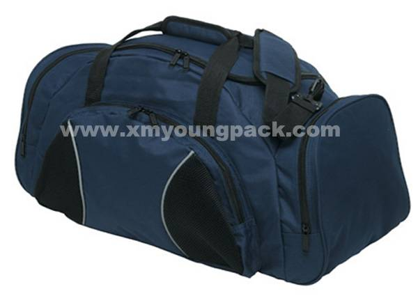 Large Navy Blue Sports Duffel Bags