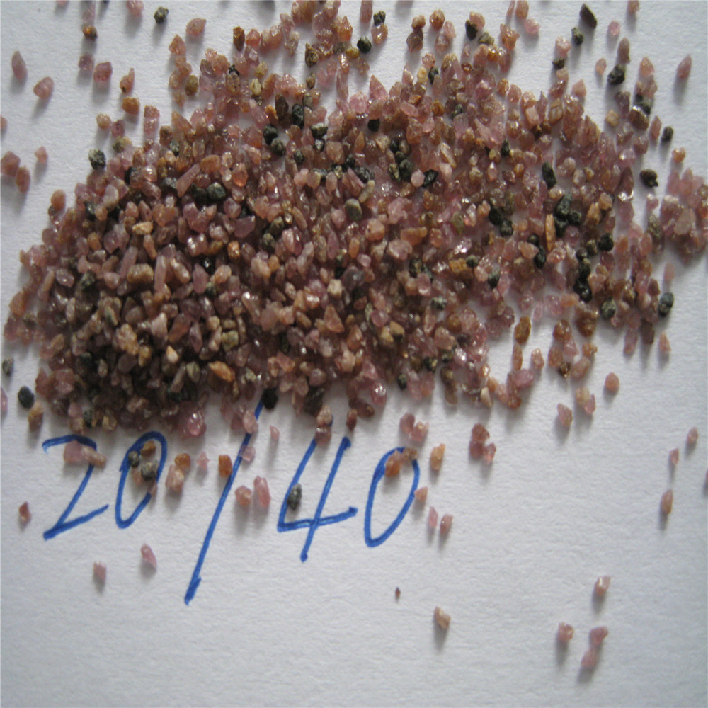 Red Garnet sand 80 mesh in Abrasive