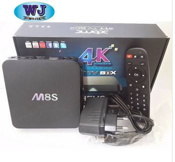Android 4.4 Smart Quad Core TV Box with Skype Internet TV Box Full HD Smart TV Media Player M8