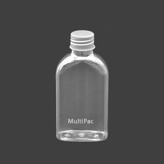 120ml PET bottle with aluminium cap, for body oil packaging