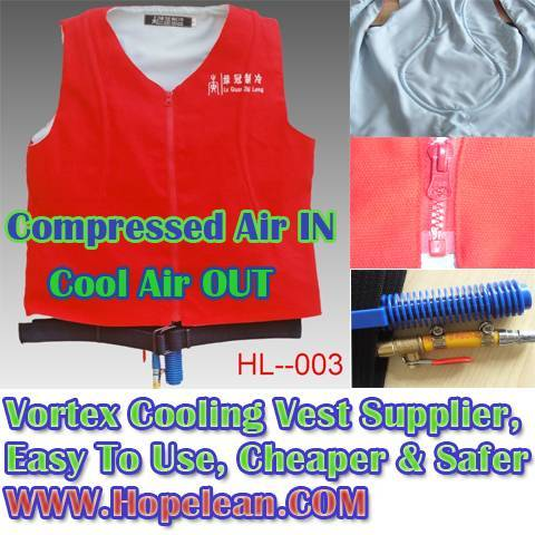 Cheaper and Safer Cooling Vest