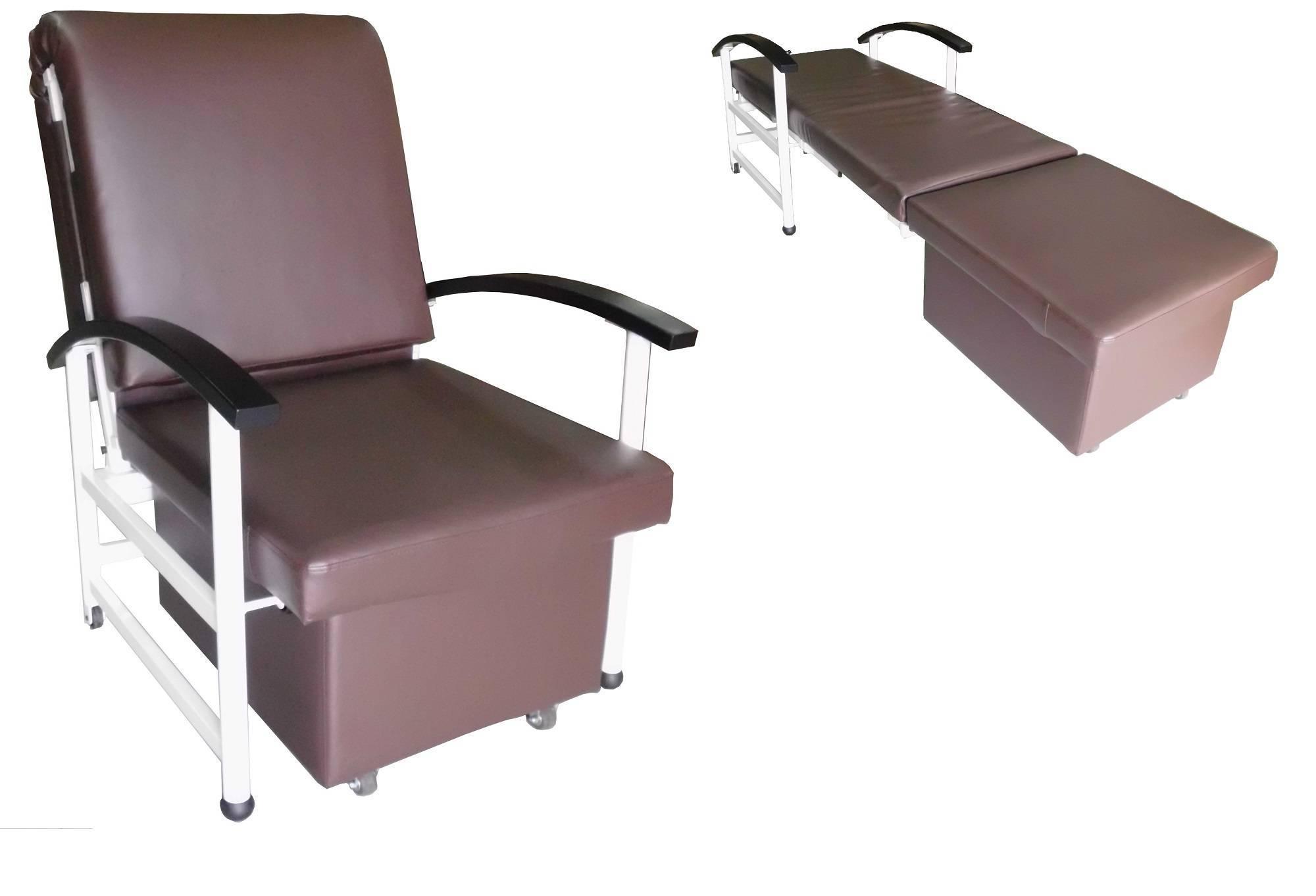 BH-9164 Accompany Recliner Bed Sofa, Recliner Sofa, Hospital Furniture