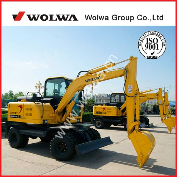 China popular small excavator for sale with low price DLS865-9A