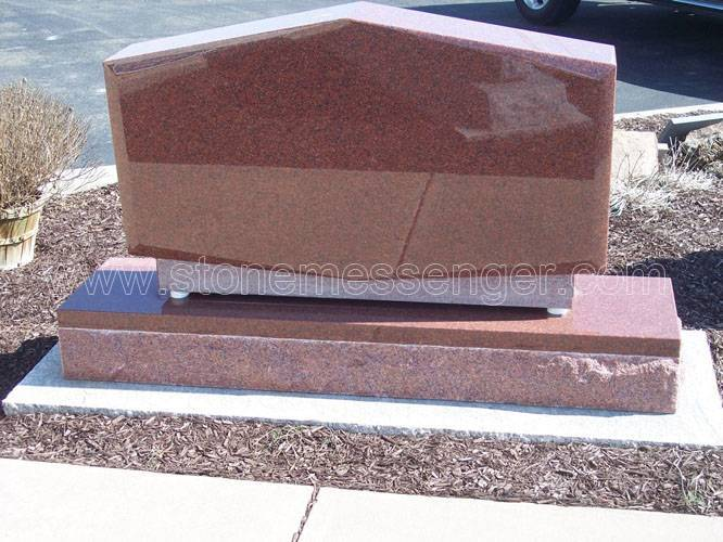 American Style Granite Upright Monuments Headstone