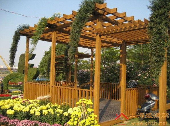 wpc pergola mould from Gree Mould