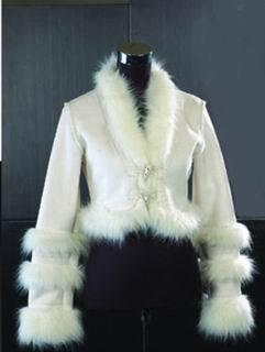 lady's fashion coat-002