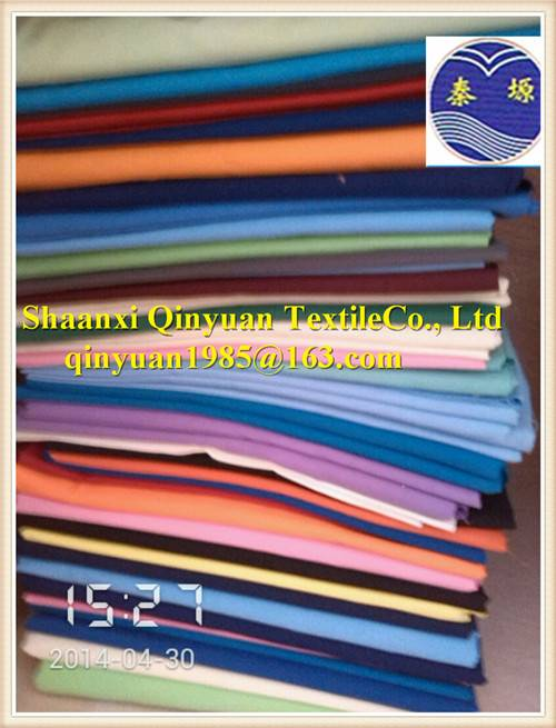 T/C Fabric polyester/cotton fabric for lining, pocket, interlining