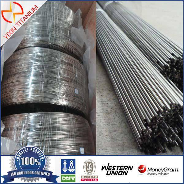 Selling Welding Titanium wire min 0.1mm~6mm in stock