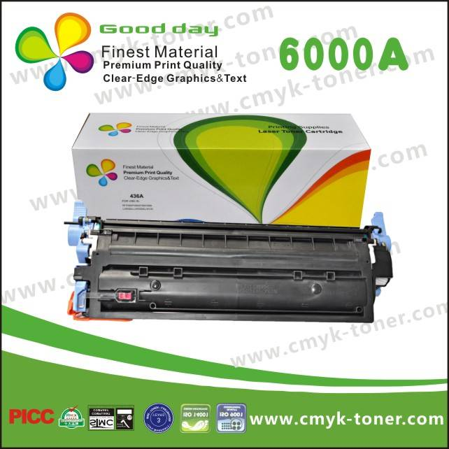 HP 6000A Printer toner cartridge,Universal Model HP Color LaserJet - 1600/2600n/2605/2605dn/2605dtn
