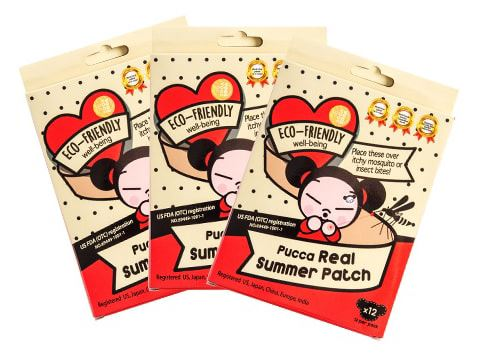 PUCCA Real Summer Patch eco-friendly mosquito patch