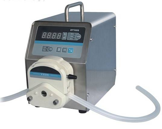 BT100S variable speed peristaltic pump