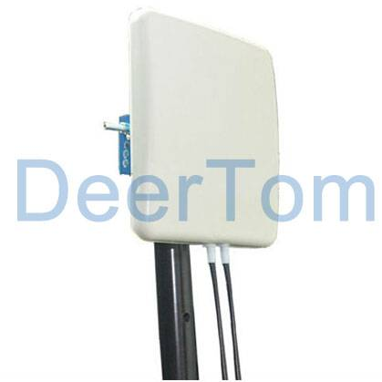 3400-3600MHz 3.5GHz 3.5G Wimax MIMO Panel Antenna Dual Polarization