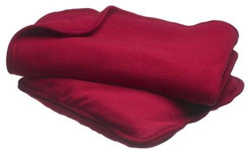 flame retardant cotton and modacrylic blended airline blanket