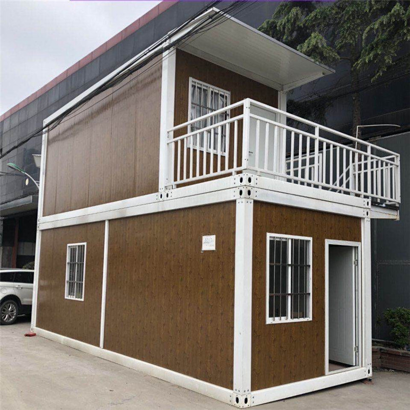 Flexible High Construction Efficiency Prefab Light Steel Container Home