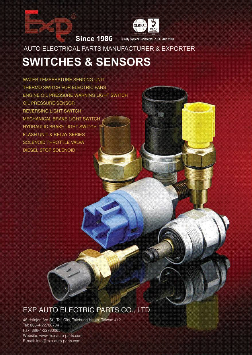 Able to provide all kinds of switch, valve, flasher, relay for car & truck