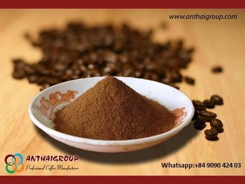 Instant coffee Origin