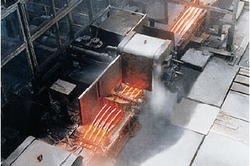 carbon/alloy & stainless steels and metal products as well as steel mill equipment and facilities.