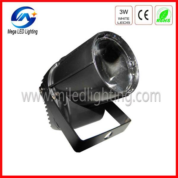 3w cree led mini pinspot light