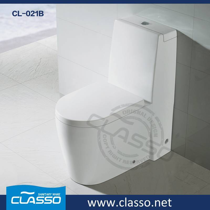 Hotel Building Material washdown toilet 4-inch one piece closet TURKISH BRAND CLASSO CL-021B
