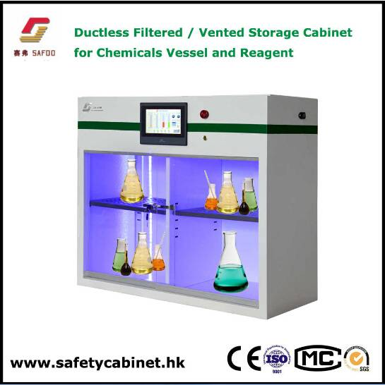 Mini Ductless chemicals filtering storage cabinet