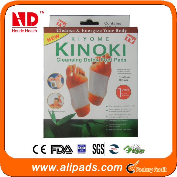 Kinoki Detox Foot Patches with Adhesive
