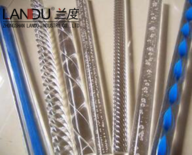 High qualitydifferent size coloracrylicline rods acrylic line round bars acrylic line round stick