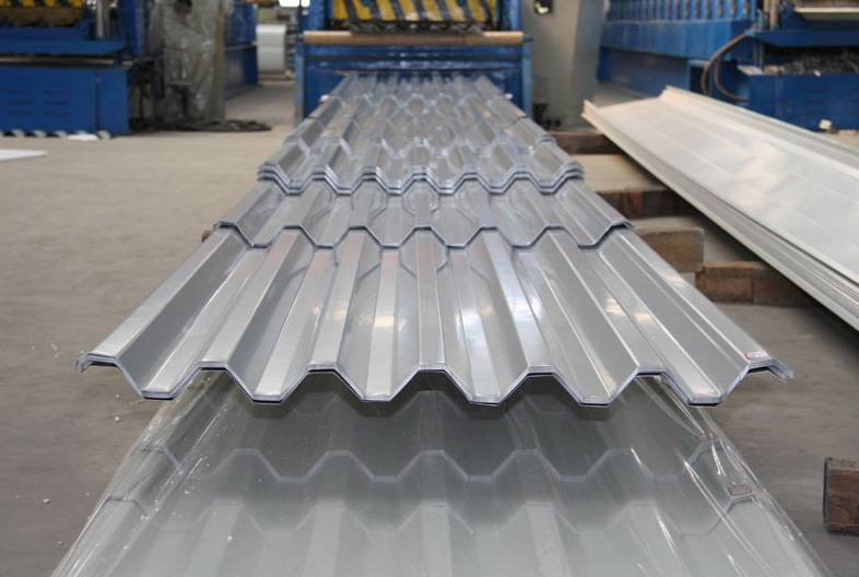 Good quality Corrugated aluminum roofing sheet