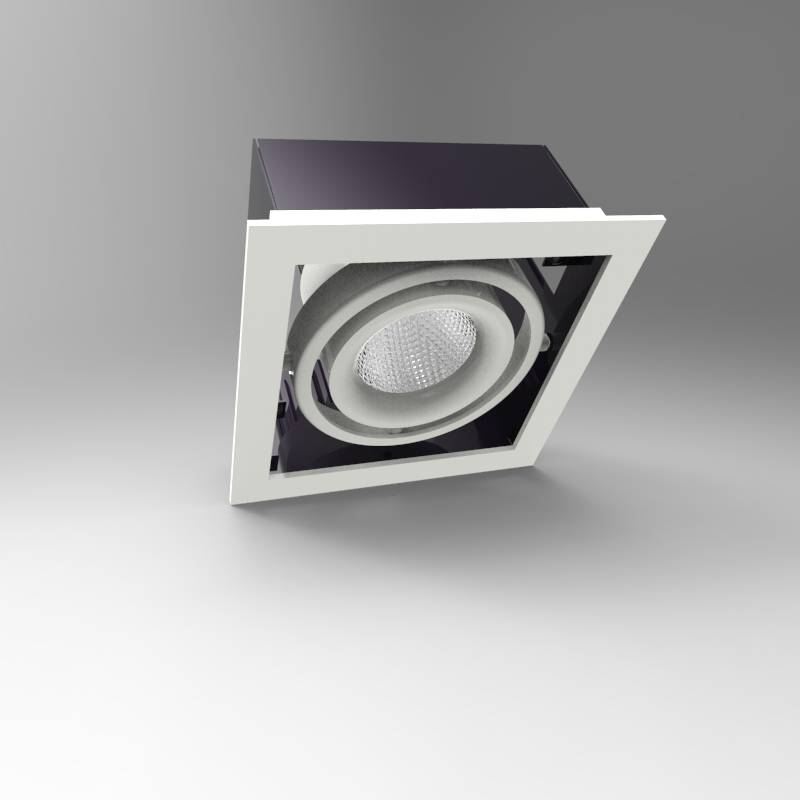 CE& RoHS cob led 35W grille light for Commericial lighting