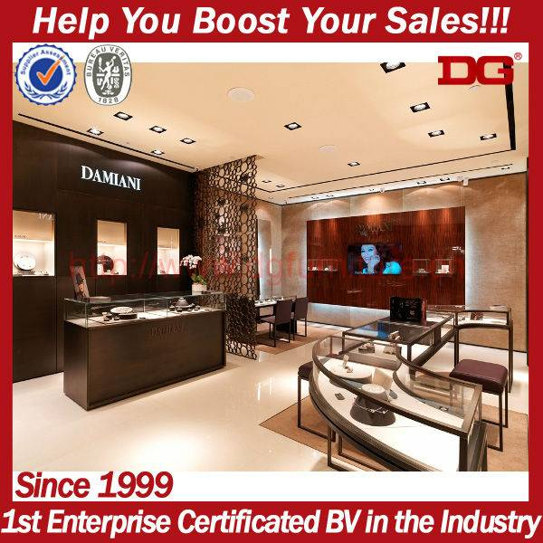 New Fashion Retail Inteior Design Shop Decorations For Jewelry Store