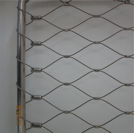 Architectural Surface Plant Climbing Net/Stainless Steel X-Tend Wire Rope Mesh